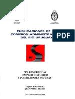 El Rio Uruguay Empleo Historico y Posibilidades Futuras