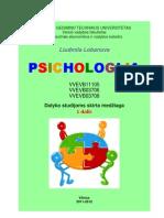 Psichologija Medziaga Studijoms 1 Dalis Tevk Lobanova