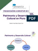 Patrimonio y Desarrollo Cultural en Piura