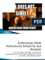 Embryology Made Ridiculously Simple Presentation[1] Updated[1] Again