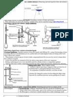 Chem - Practicals