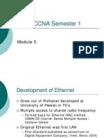 Cisco Module 5