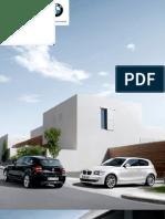 Catalogo BMW Serie1 3 y 5 puertas