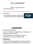 Leadership Combination Slides
