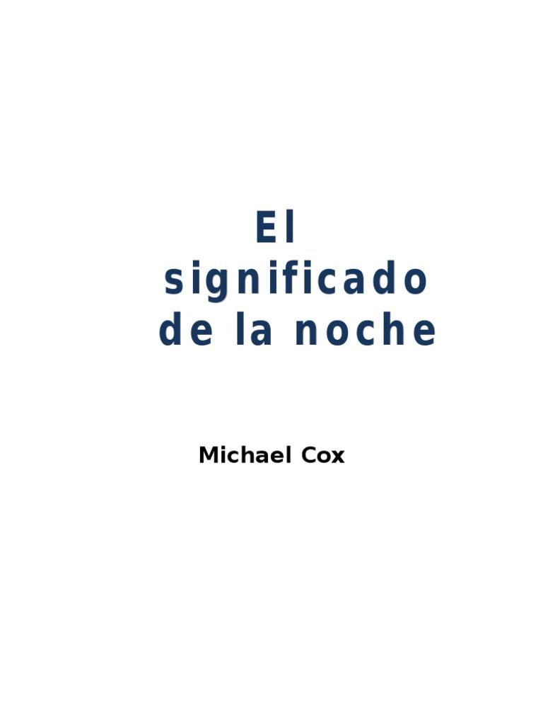Cox Michael - El Significado de La Noche