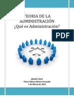 TEORIA DE LA ADMINISTRACIÓN