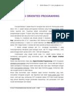 9. Object Oriented Program