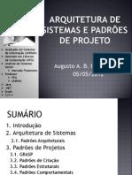 Arquitetura de Sistemas e Padroes de Projeto - Aula 01 - Parte 01