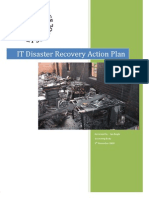 IT Disaster Recovery Action Plan
