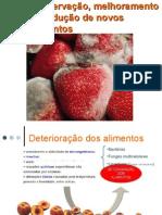 Conservação,melhoramento e produção de novos alimentos.ppt2