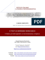 eBook Gratuito Test Di Rorschach
