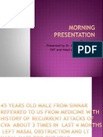 Morning Presentation
