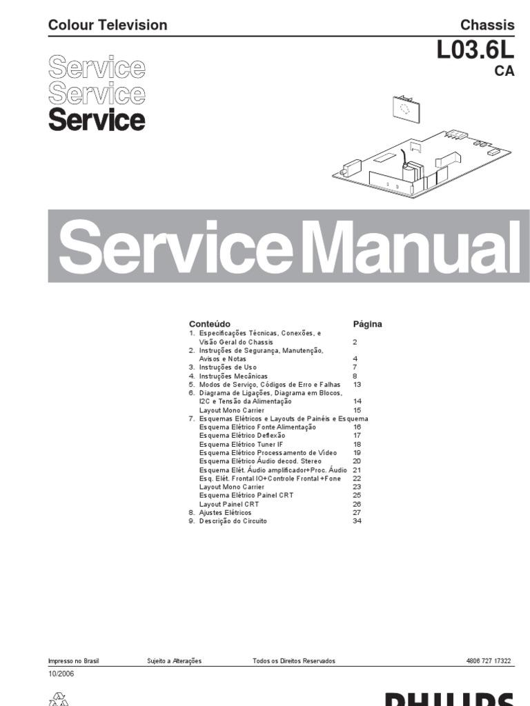 Manual Tv Semp Toshiba Regza