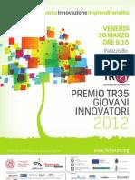 TR35 Giovani Innovatori