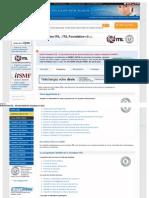 Formation Itil _ Programme Itil Foundation v3 (Itil)