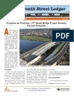 11th Street Bridge Winter Newsletter 2011-12-02