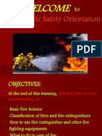 Fire & Life Safety Orientation - Updated