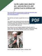 Has Osama Bin Laden Been Dead for Seven Years