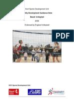 Build a Beach Volleyball Court