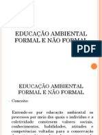Educacao Ambiental Formal e Nao Formal1