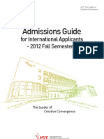 1.+UST+Application+Guide+for+International+Applicants Foreigners+and+Overseas+Residents%2C+2012+Fall+Admissions