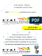 Cartazes - ProfissÕes Futuro