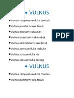 VULNUS