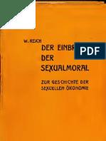 91509555 Reich Wilhelm Der Einbruch Der Sexual Moral