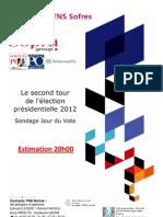 Présidentielle 2012 Tour 2