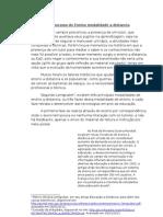 Panorama Do Ensino Modalidade a Distancia
