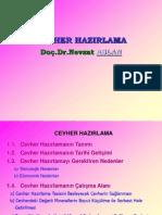 CEVHER HAZIRLAMA (2003 formatlı)