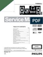 Manual de Servicio Philips FWM_583-55