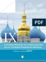 Congreso Mundial de la Organización de las Ciudades patrimonio Mundial