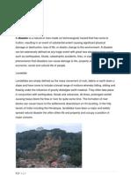 Landslide Disaster Equipment