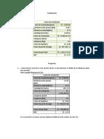 Costo de instalación