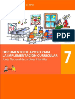 Coleccion Curriculo II - N 7 Documento de Apoyo Para La Implementacion Curricular