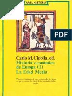 Cipolla Carlo M - Historia Economica de Europa 1 - Edad Media