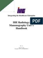 IHE Mammo Handbook Rev1