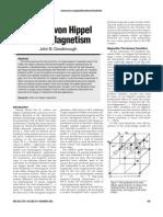 Arthur von Hippel and Magnetism