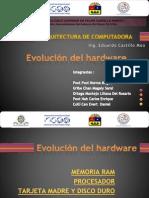 Evolución del hardware_RAM