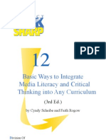 12 Basic Ways to Integrate Media Literacy and Critical Thinking Into Curriculum