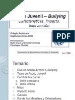 Taller Bullying Licda. Marta Casas (1)