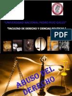 Diapositivas Abuso de Derecho