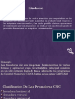 Fresadora CNC Diapositivas