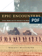 Epic Encounters Culture Media U S Interests in the Middle East 1945 2000 1 to 60