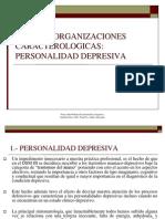 ORGANIZACIONES CARACTEROLOGICAS-DEPRESIVA