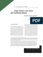 Colombia Frente a Los Retos Del Multilateralismo