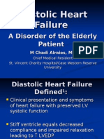 Diastolic Dysfunction Heart Failure