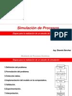 Etapas de Un Proceso de Simulacion