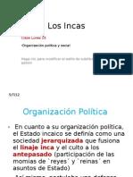 6. Organización Política y Social